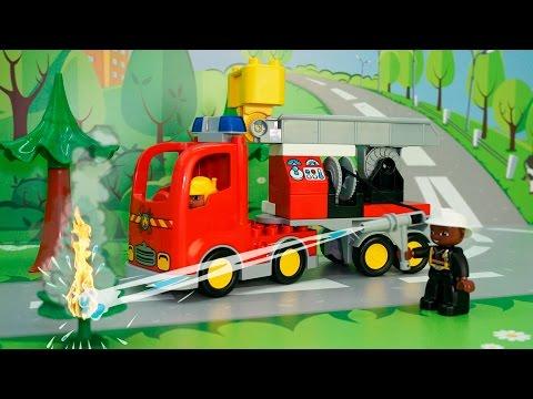Пожарная машина у #видео для детей