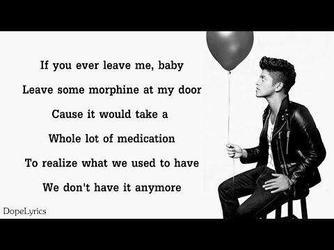 It Will Rain - Bruno Mars (Lyrics)