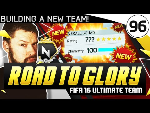 BUILDING A NEW TEAM! - FUT ROAD TO GLORY!! - #96 - FIFA 16 Ultimate Team