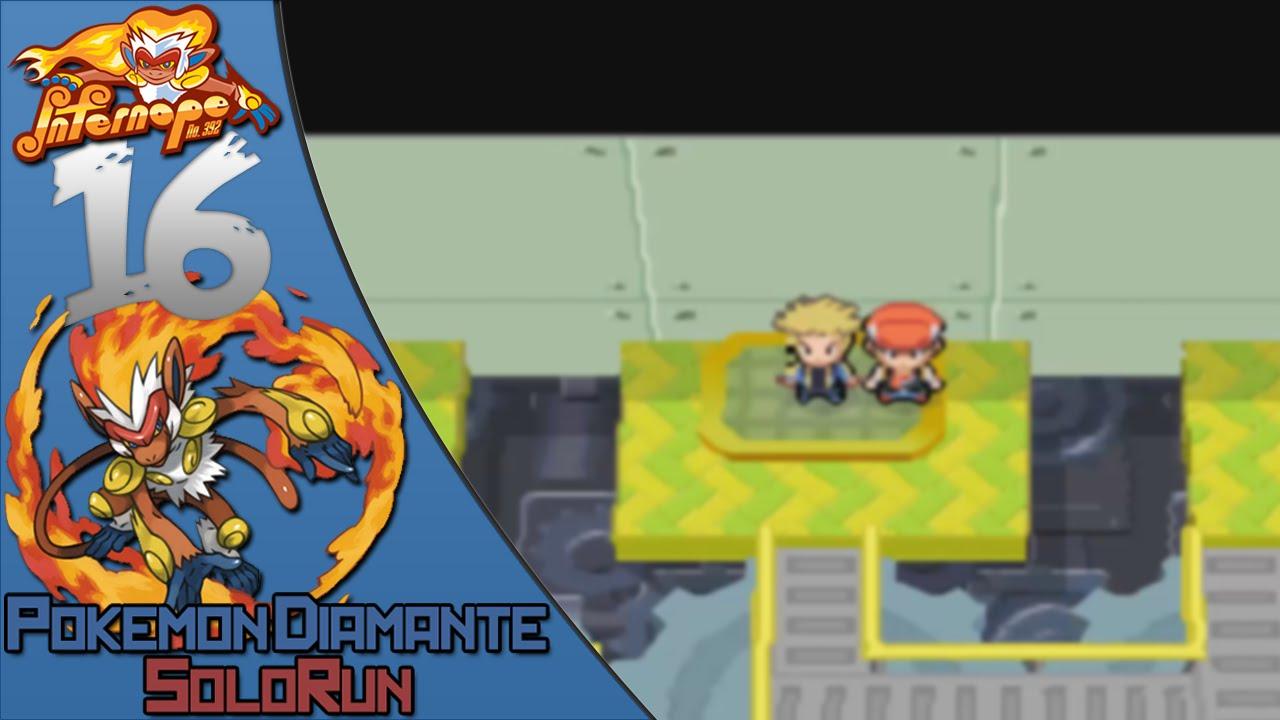 Pokemon Diamante Solorun 16 La última Medalla Youtube