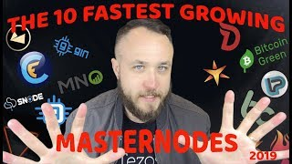 THE 10 FASTEST GROWING MASTERNODES | PORTFOLIO UPDATE