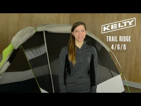 Kelty Trail Ridge 4 6 u0026 8  sc 1 st  Kelty & Trail Ridge 8 Person Camping Tent | Kelty
