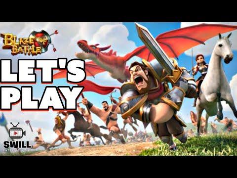 blaze of battle part 1 let s play youtube