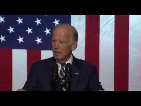 Joe Biden RIPS Donald Trump Over Taxes & Debate 9/27/16