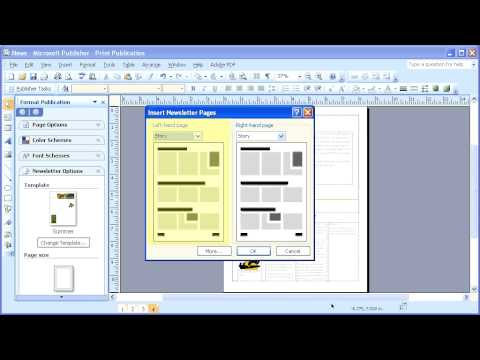 microsoft publisher templates 2007
