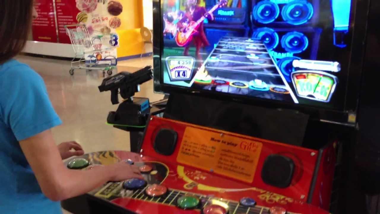 Guitar Hero Arcade In Thailand Youtube