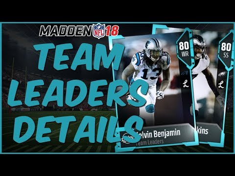 MUT 18 | Team Leader Sets Are Live! Full Detals On How To Get 86 Overall Elites!