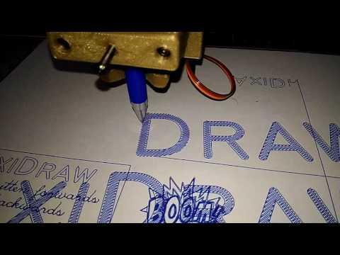 4xiDraw (H-bot) Speed Test 10000mm/min