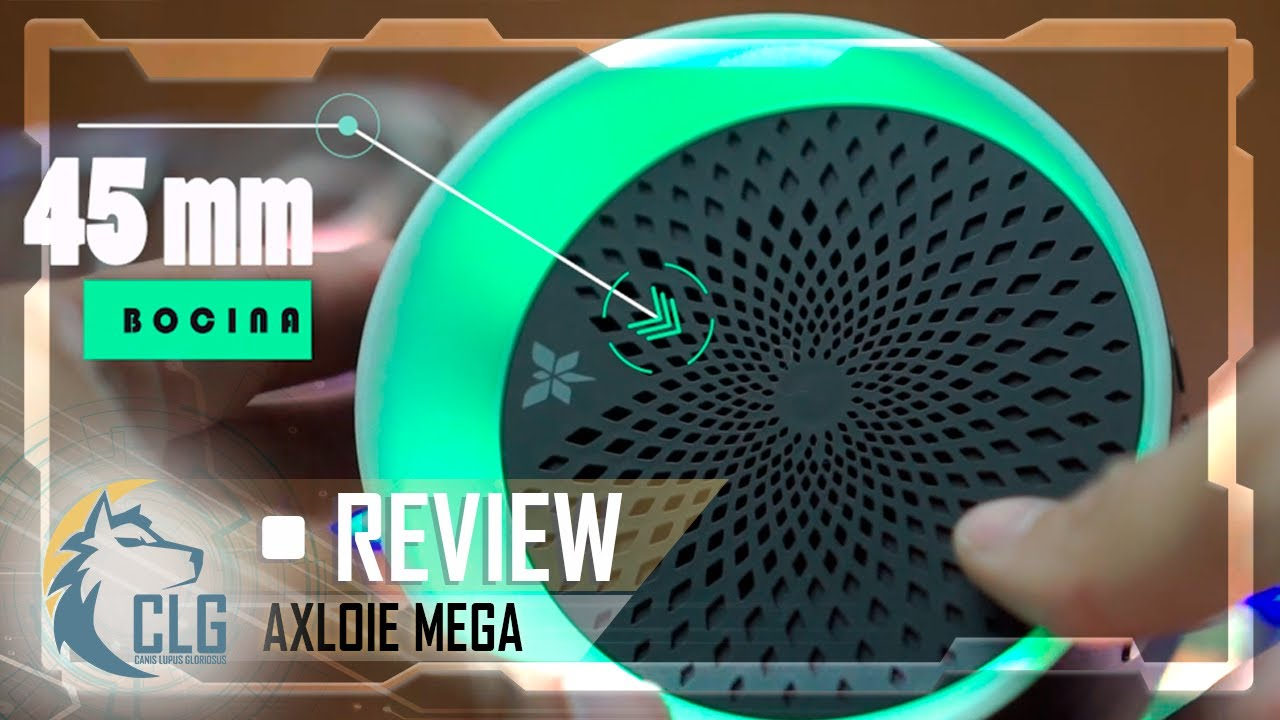 BOCINA RGB🎨AXLOIE MEGA🔊¿Best Bluetooth Speaker 2020? REVIEW en Español
