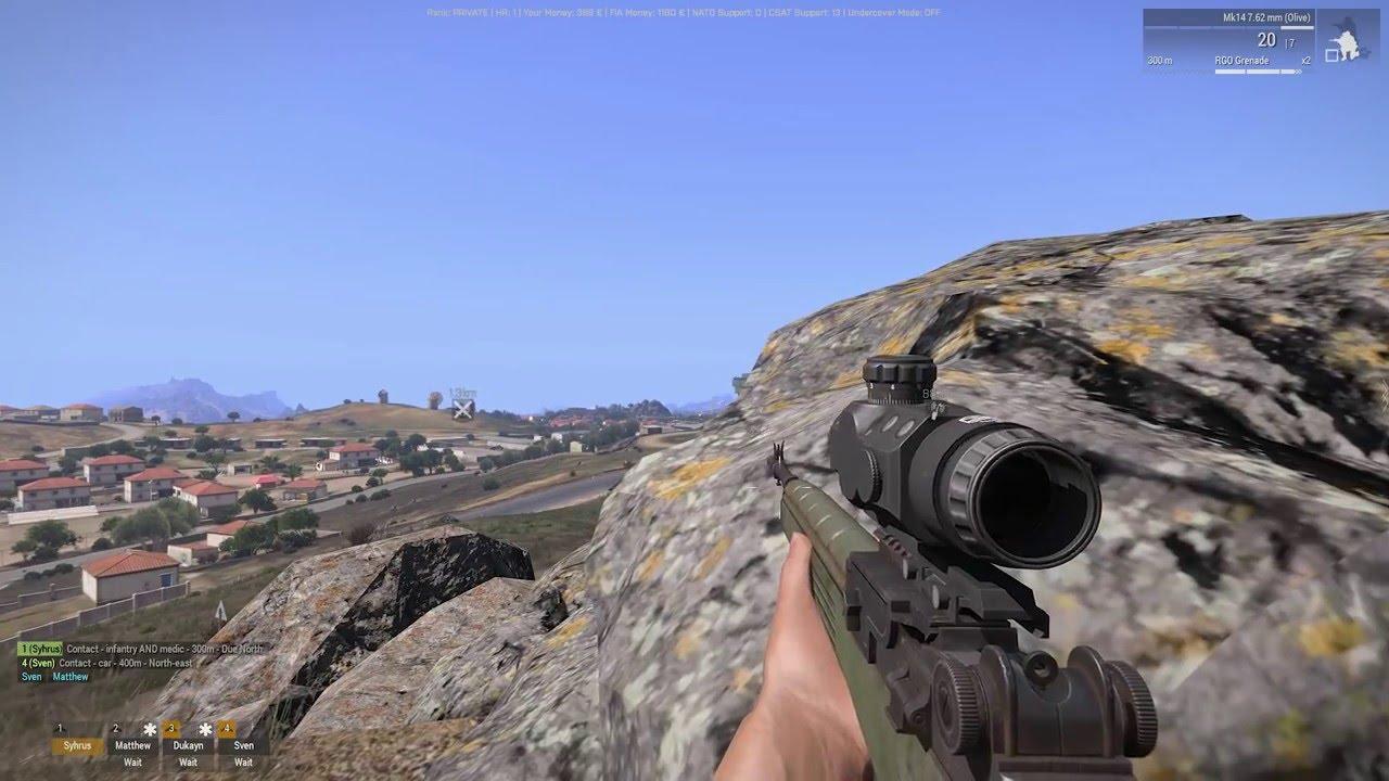 Striking Back Part 1 - Arma 3 Guerrilla warfare - Antistasi Altis