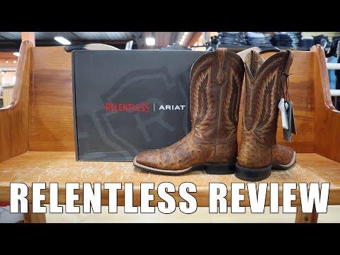 Ariat Relentless Full Quill Ostrich Cowboy Boot Review