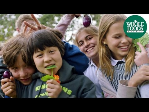Let's Get Raw! Kids Talk School Gardens & Salad Bars | Whole Kids Foundation | Whole Foods Market