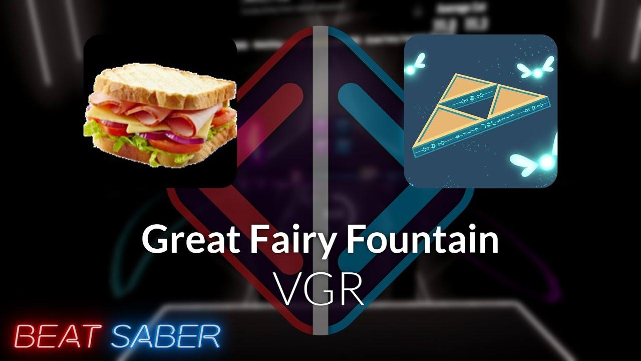 Beat Saber | Darksamich | VGR - Great Fairy Fountain [Expert] #1 | 92.61%