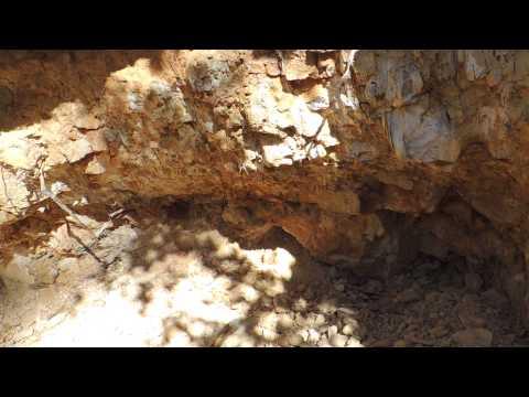 Exploring California Quartz Crystal Dig Site