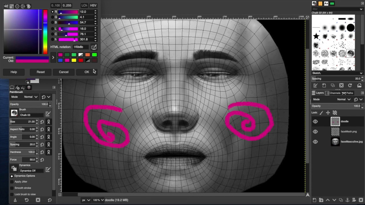 Face Mesh With Png Overlay Basic Instagram Facebook Spark Ar Tutorial Youtube