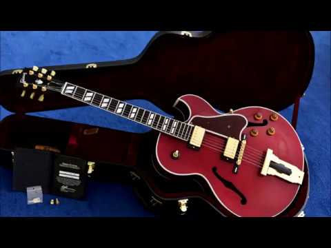 Gibson L-4 CES Custom Shop Mahogany - Sitka Spruce Wine Red (2010) sound impression