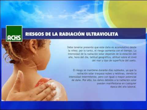 Prevención de Radiación Solar (UV)
