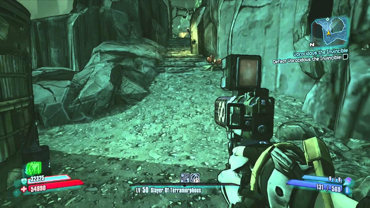 Borderlands 2 big game hunt raid boss