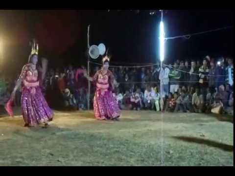 Chhau Nach Krishna Premlila by Rasbihari...
