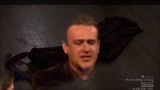 Neil Patrick Harris and Jason Segal sing Confrontation from Les Mis mixed with Backing Track