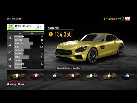All Dealership Cars Need For Speed Payback