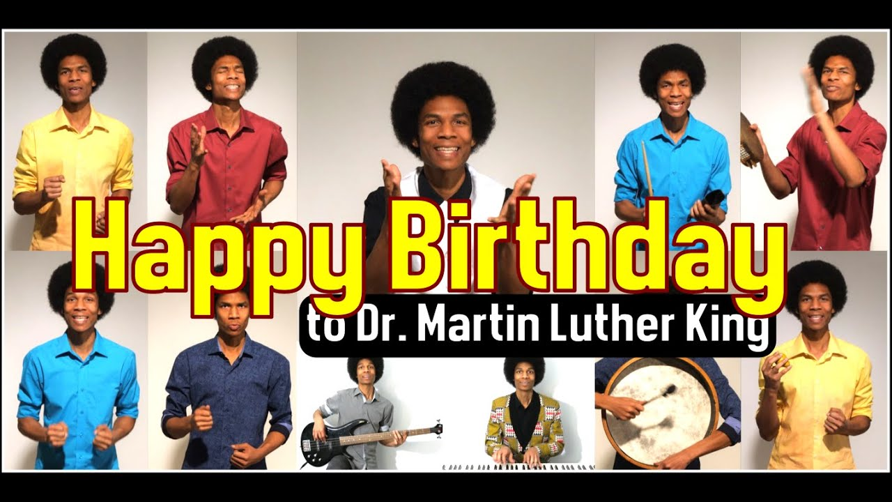 Happy Birthday By Stevie Wonder Tribute To Dr Martin Luther King Jr Youtube