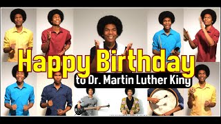 """Happy Birthday"" by Stevie Wonder (Tribute to Dr. Martin Luther King Jr.)"