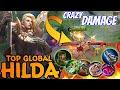 Hilda 1HIT 1KILL | New Meta Hilda | Best Build Hilda | Top Global Hilda ~ MLBB