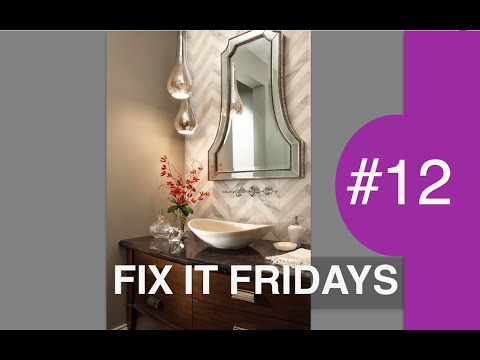 Interior Design | Beautiful Bathroom Decorating Ideas | Fix it Fridays #12