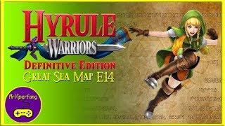 Hyrule Warriors (Switch): Great Sea Map E14 -