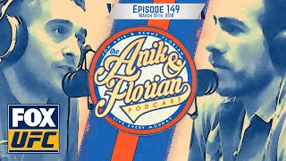 Frankie Edgar, ATT coach Mike Brown, UFC 223 preview | EPISODE 149 | ANIK AND FLORIAN PODCAST