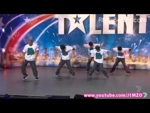 SKB Dance Crew  Australia's Got Talent 2011 Audition  FULL  Street Kulture Breakers