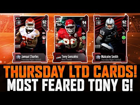 THURSDAY LIMITED EDITIONS | Most Feared Tony Gonzalez! | Market Fully Crashed? | MUT 18