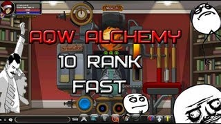 AQW Alchemy 10 rank