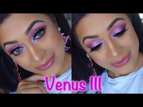 shimmer-lilac-nude-makeup-tutorial:-lime-crime-venus-3-palette