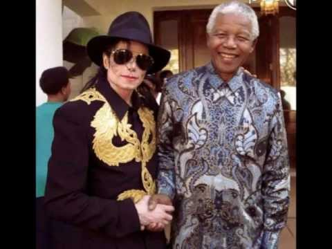 Michael Jackson ♛ Nelson Mandela ♛ ThisLoves4you!!!