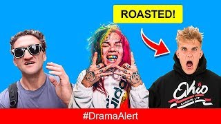 Jake Paul CAUGHT Stealing Content & ROASTED by 6ix9ine #DramaAlert Casey Neistat PREGNANT! KSI, Deji