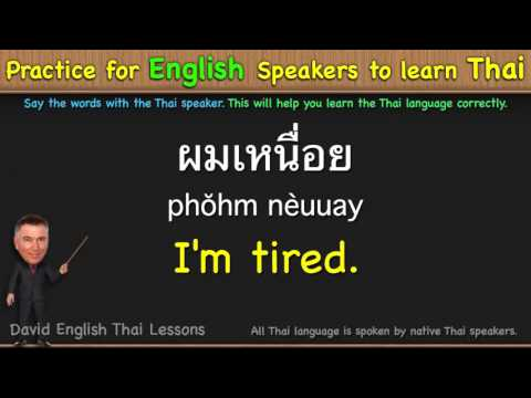 Learn Thai in 3 Minutes - YouTube