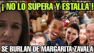 NO LO SUPERA Y ESTALLA ¡ SE BURLAN DE MARGARITA ZAVALA POR ARREMETER CONTRA EL INE POR ESTO !