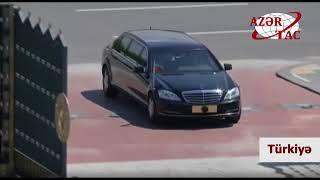 Prezident İlham Əliyevin Ankarada rəsmi qarşılanma mərasimi olub