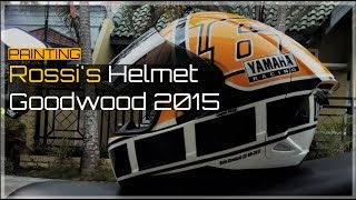 The Making of Valentino Rossi Helmet Goodwood 2015