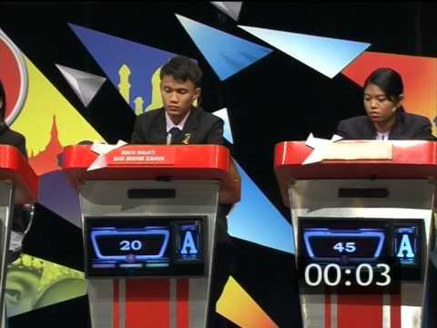 ASEAN QUIZ MALAYSIA 2014 FULL PART 1