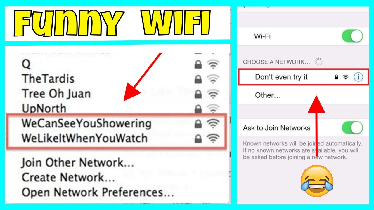New*} Best Wi-Fi Names Collection for Your Router Network SSID 2019