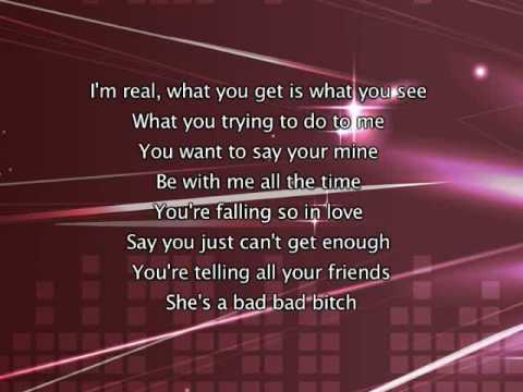 Jennifer Lopez - I'm Real, Lyrics In Video