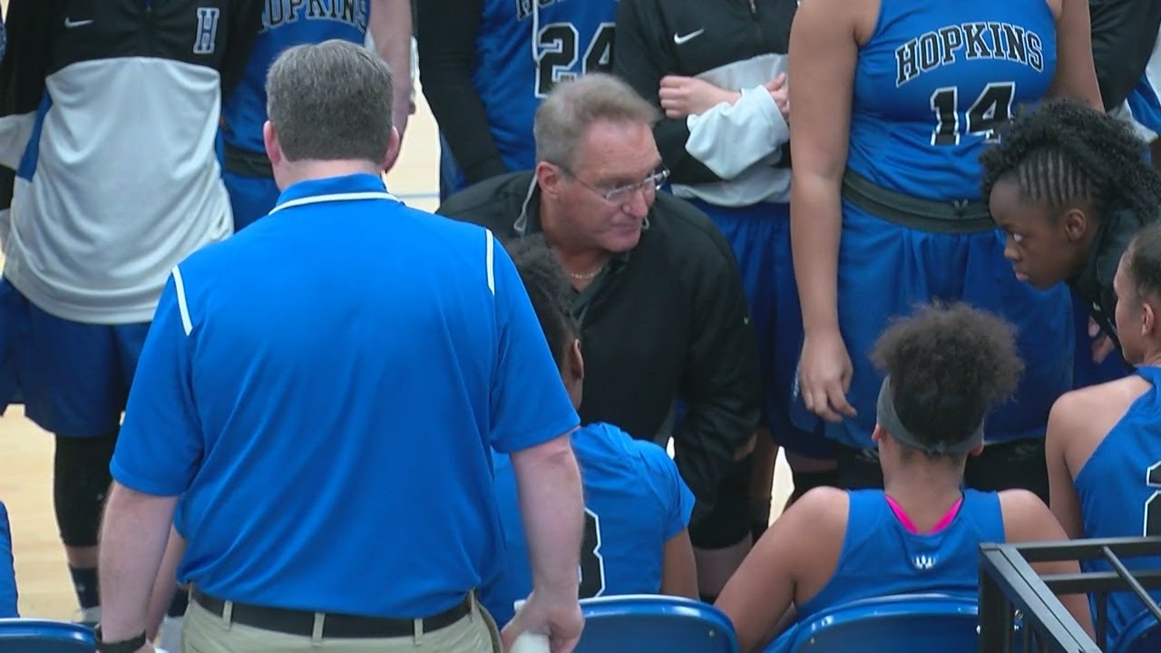 Hopkins Girls Basketball Coach Stepping Down