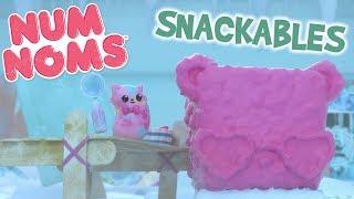 Num Noms | B-Tag-Bean Baut eine Snow Cone Pal | Snackables Comic-Webisode | Saison 3 Episode 6