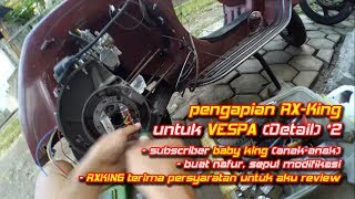 Video Tune Up Pengapian RX King dipasang ke Vespa (DETAIL 2) || Aji VAS download MP3, 3GP, MP4, WEBM, AVI, FLV Mei 2018
