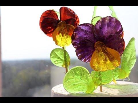 Декор для торта - карамельные цветы - АНЮТИНЫ ГЛАЗКИ ...