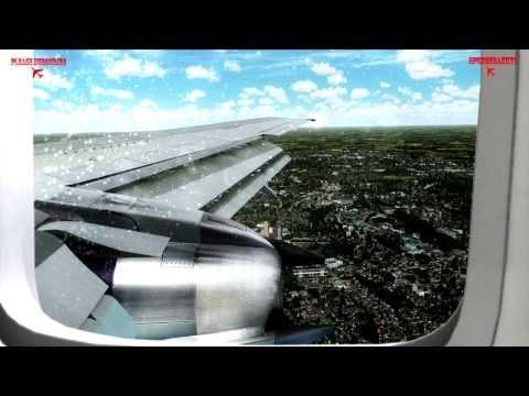 Amazing Flight Simulator X, CaptainSim Boeing 737- 200 Bristol to Bremen