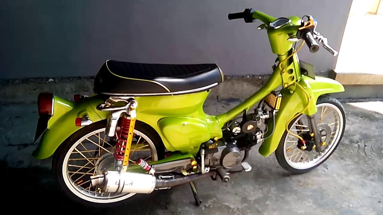Gambar Modifikasi Motor Olong Pangeran Modifikasi
